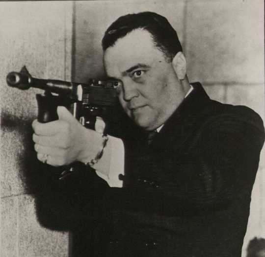 J. Edgar's got the gat